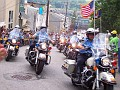 Philly's Bikers in Blue signal the last lap