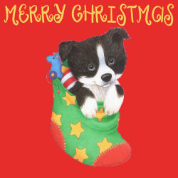 Christmas Puppy WallpaperSM