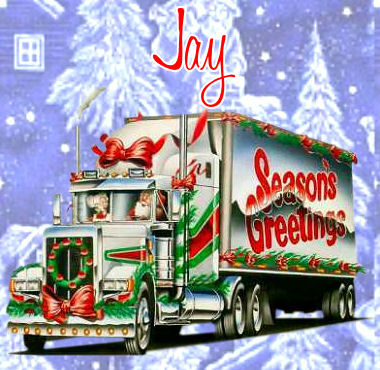 Seasons GreetingJay